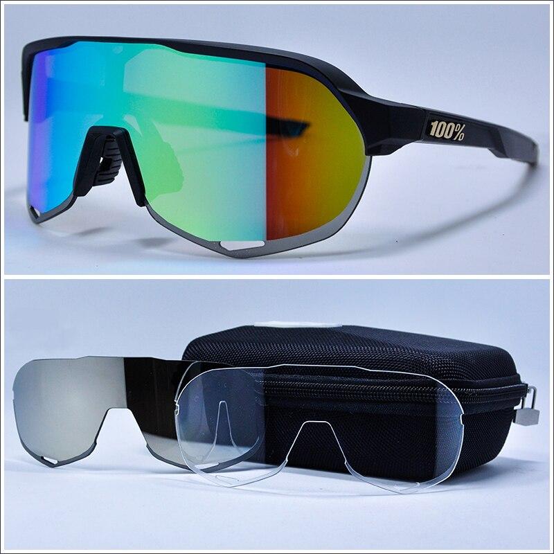199e9a194a Comprar 3 lente 2018 diseño de marca gafas de ciclismo gafas TR90 Polarzied  de las mujeres de los hombres de deportes al aire libre bicicleta ciclismo  gafas ...