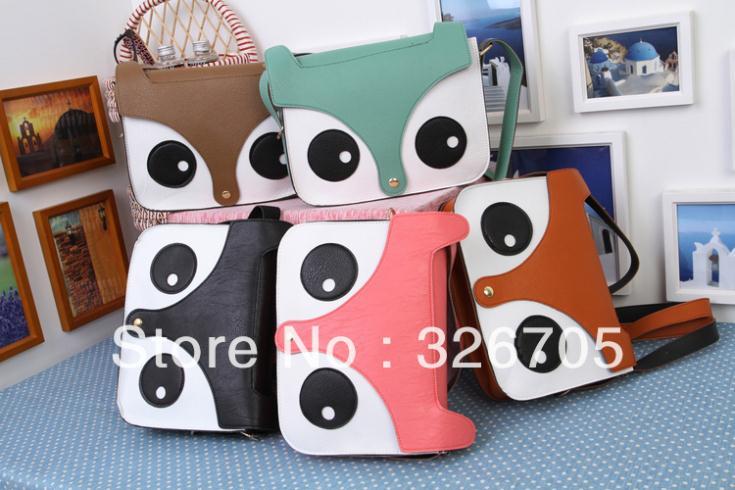 Popular Style Women Ladies bag Retro Shoulder Bag Fashion Messenger Bags School Tote Fox PU Handbags Casual Satchel Clutch Bag