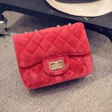 Velour kreuzkörper Schulter Bag Handtasche frauen Handtasche designer Geldbörsen Und Cluthes Damen Handtaschen Samt Kette Sac ein Haupt