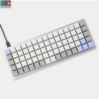 IDOBAO Hotline SWAPPABLE ORTHOLINEAR ID75 Mechanical Keyboard Kit Custom Keycaps Teclado Gaming Mini Pc Gamer Completo Cherry Mx