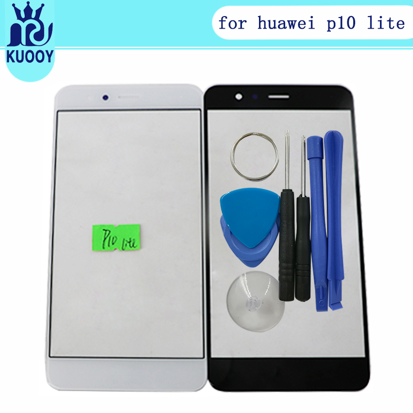 touch panel replacement For Huawei Ascend P10 lite Nova Lite LCD Front Outer Screen Glass Lens with tools free shipping