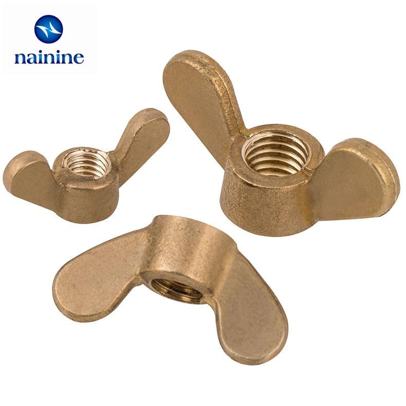 Wing Nuts DIN 315 Brass Blank
