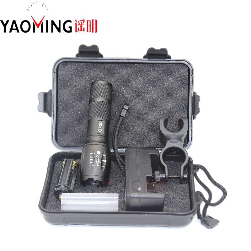 Gavekasse G700 3800LM CREE XM-L T6 Torch Lanterna Cree LED 10W - Bærbar belysning