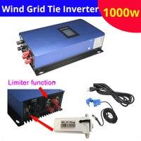 Новый Чистая синусоида 1000 Вт 48 В 96 В 110 В 120 В 220 В ветра на сетке инвертора Интегрированный контроллер сетевой инвертор с WiFi светодиодный дисп