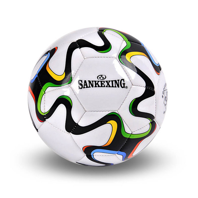 Free ship soccer ball size 5 PU leather football competition training professional football sewing by machine ball for soccer C1