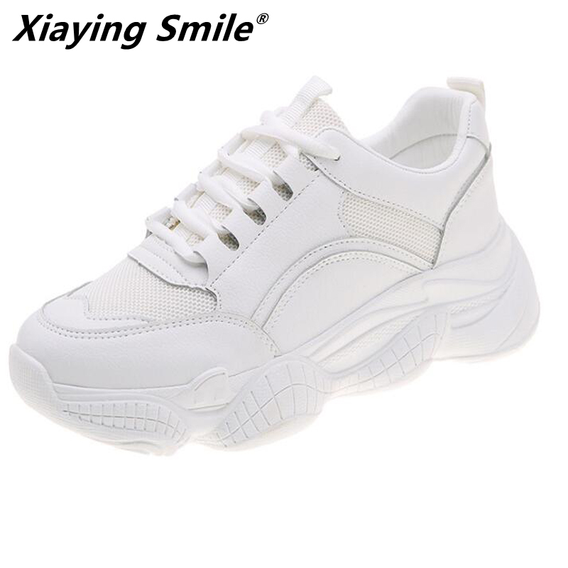 Xiaying Smile 2019 Sping Autumn women new style running shoes breathable lining outdoor footwear woman comfortable sneakers