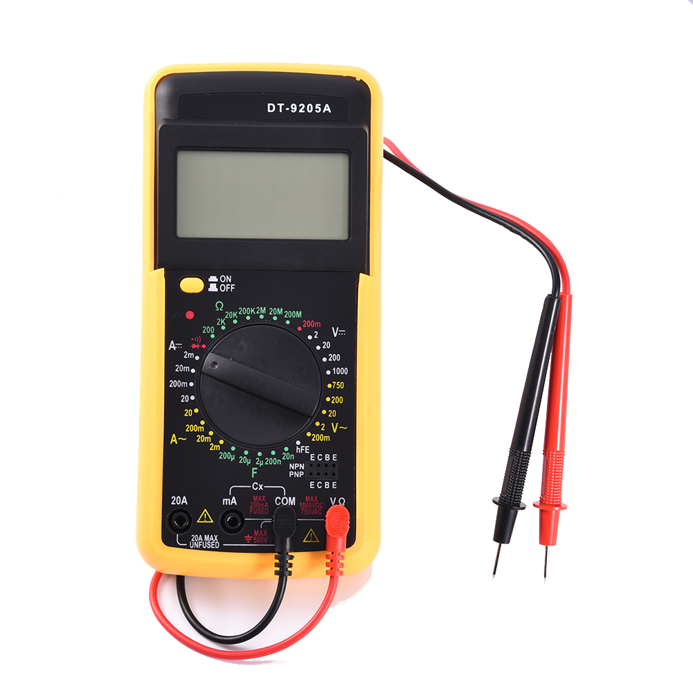 Bypass New Electrical Digital Meters : Dt a ac dc digital lcd display electrical handheld