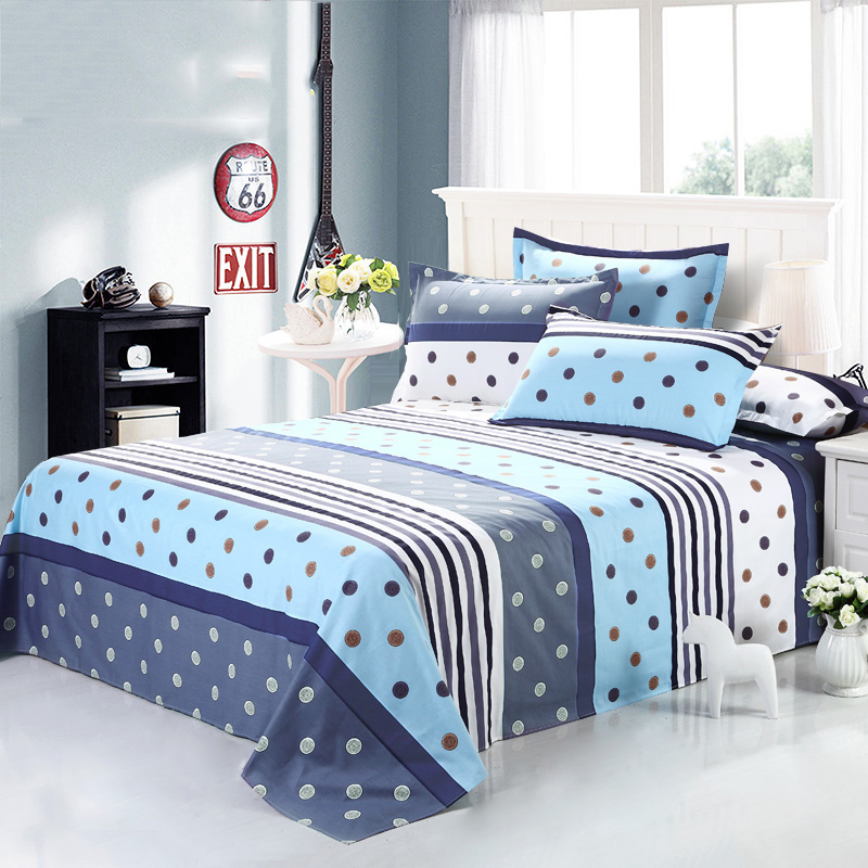 Home Textile Bedding Fitted Sheets 100% Cotton Mattress Cover