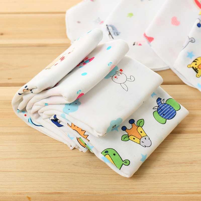 2019 新ベビータオル 25 × 25 センチメートル薄型ブレンド綿ソフト拭く食品洗顔正方形子供