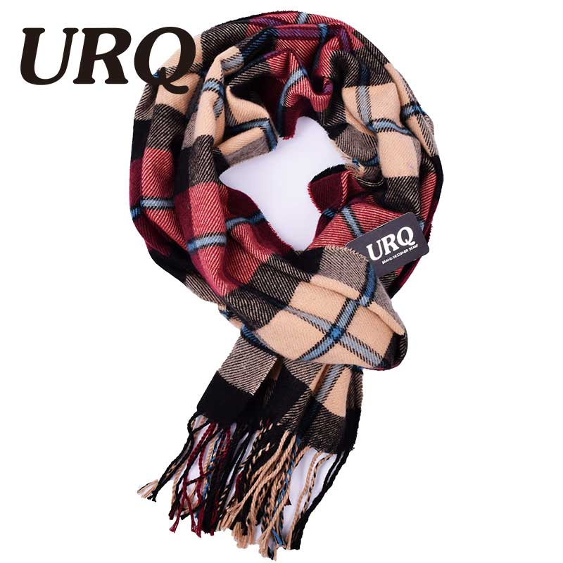 Buy Plaid Men Scarf Winter Fashion Scarves Scarf Soft Warm Cashmere Tartan