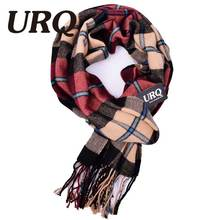 Plaid men scarf winter fashion scarves scarf soft warm cashmere Tartan scarves 2016 new W3A17523