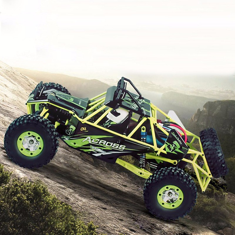 DWI dowellin 2.4GHz 1/12 4WD Crawler RC Car WLtoys Dirt Bike Truck Jeep Car Toy 12428 With LED Light wltoys 12428 12423 1 12 rc car spare parts 12428 0091 12428 0133 front rear diff gear differential gear complete