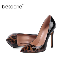 BESCONE Casual Shallow Thin Heel Women Pumps Sexy Pointed Toe Slip-On Shoes New Fashion 12 cm Super High Heel Ladies Pumps BY06 poadisfoo 2018 women s fashion simple thin high heel shallow mouth ladies sexy pumps 10 5cm psds 638 5