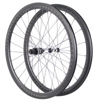 700C Racing Bicycle U Shape 56mm 18K Kevlar Carbon Road Wheels Clincher Carbon Wheelset Bitex Chosen