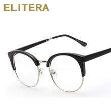ELITERA 2018 Nova Moda Do Gato Do Vintage Vidros do Olho Quadro Homens  Mulheres Miopia Óculos Frame Ótico oculos de grau feminin. 149dd780bc