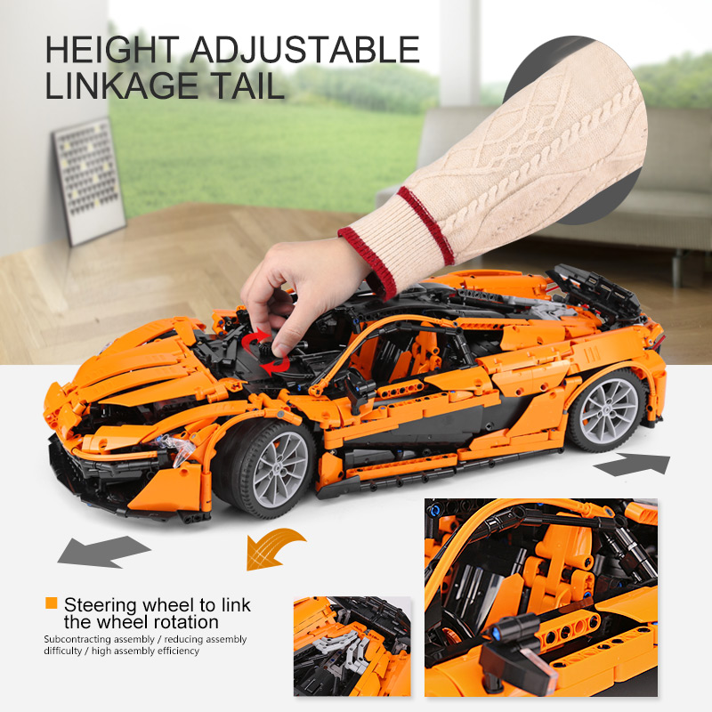 16915 super carro de corrida modelo blocos 02