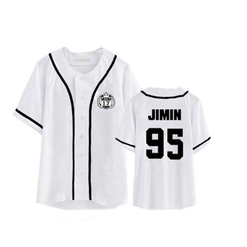 ONGSEONG Kpop BTS Bangtan Boys Album Cardigan Shirts Clothes Loose Tshirt T Shirt Short Sleeve Tops T-shirt DX401