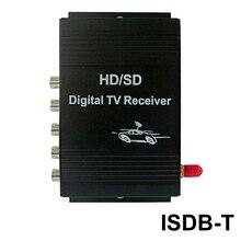 Sinairyu External Car Digital ISDB-T TV Box 1 Seg for Brazil Chile Peru South American Countries
