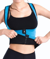 Slimming Hot Slim Belt Neoprene Body Shaper Vest Sweat Sauna Waist Trainer Cincher Shapewear Tummy Girdle
