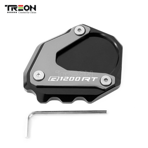 Image 5 - Support latéral pour béquille, Support latéral pour moto BMW R1200RT, R1200 RT, R 1200RT, 2004 2013, plaque de soutien