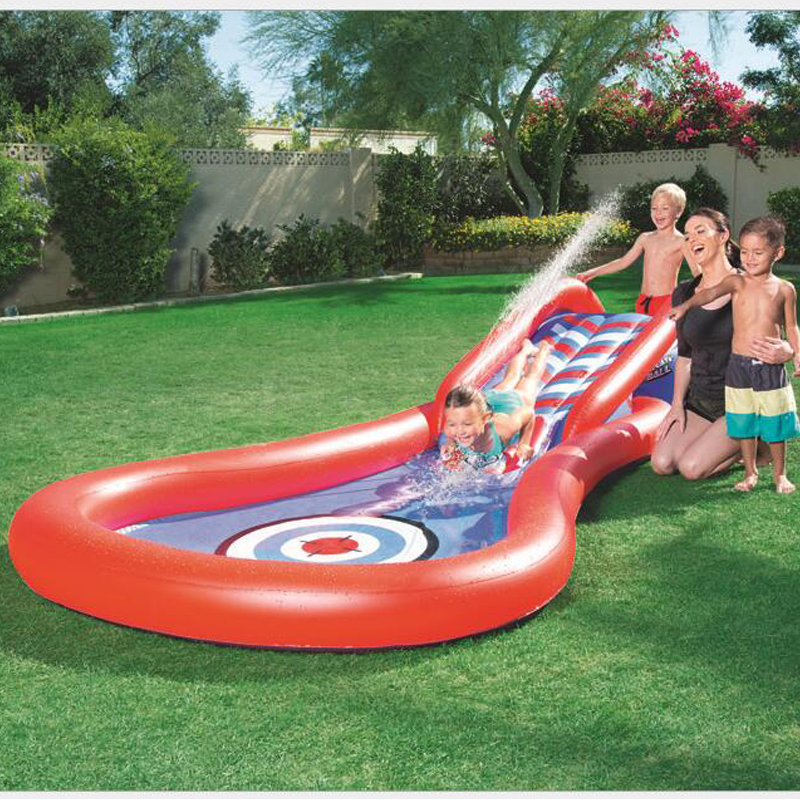 Baby Swimming pool Inflatable Play Pool Marine Ball Pool Thickening of Plastic Baby Swimming Water Pool Slide toy kids piscinas 338 167 129cm inflatable inflatable slide pool sea pool pool baby children swimming pool fishing thickening basin
