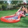 Piscina do bebê Piscina Inflável Jogo Piscina de bolinhas Marinha Espessamento de Plástico Piscina de Água Do Bebê de Natação brinquedo Slide Slide crianças piscinas