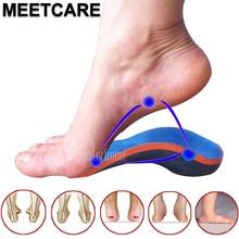 1 זוג מקצועי Orthotic Arch תמיכה מדרסים עבור רגל כאב הקלה שלוחה העקב Plantar Fasciitis מתקן אורטופדי רגל טיפול