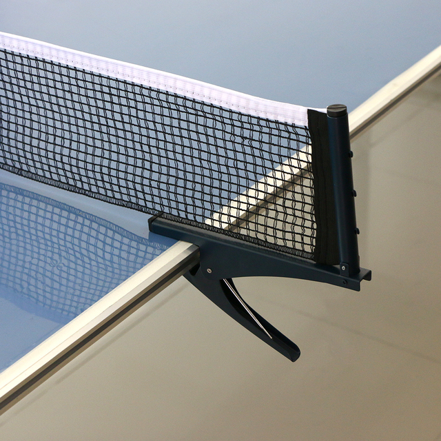 Adjustable Steel Table Tennis Post And Net Kit Set Table Tennis Assembly  Ping Pong Mesh Net