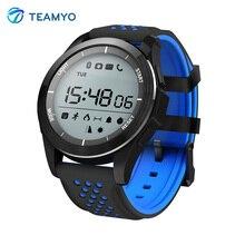 Teamyo F3 Спорт Smart Band Фитнес трекер fitbit Носимых устройств часы измерять кровяное давление часы Красочные Ремни oled-экран