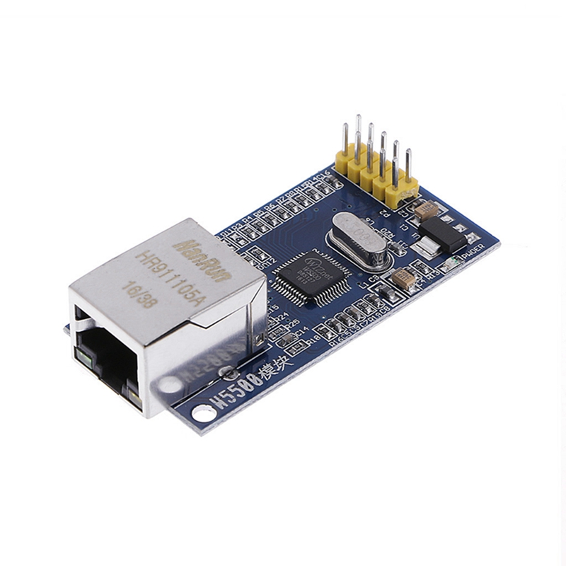 New 2017 for W5500 Ethernet Network Modules TCP/IP 51/STM32 SPI Interface For Arduino  Hot Sale w5500 ethernet network module tcp ip with 51 msp430 stm32 program mcu development board