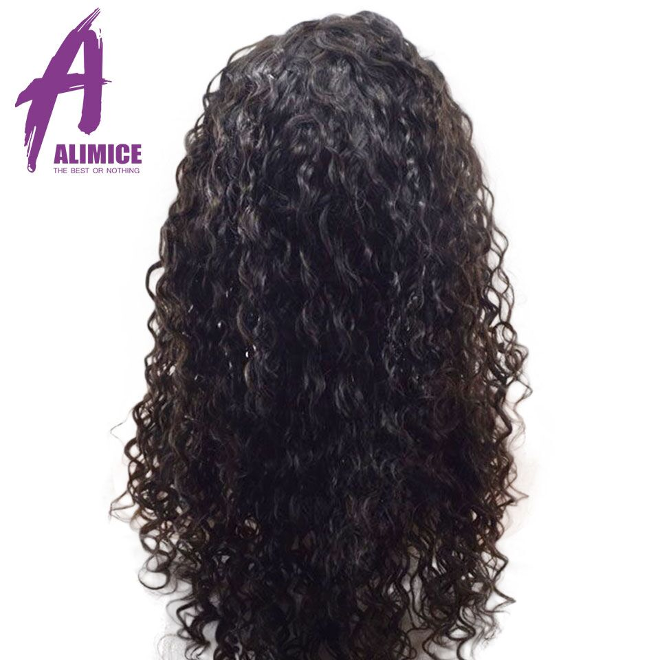 Alimice Hair Water Wave 360 Lace Frontal Wigs Brazilian Remy Full End Human Hair Wigs With Baby Hair Pre-Plucked With Baby Hair (10)