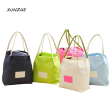 XUNZHE Upset Thermal insulation Portable Bento Storage font b Bag b font Outdoor Picnic Student Office
