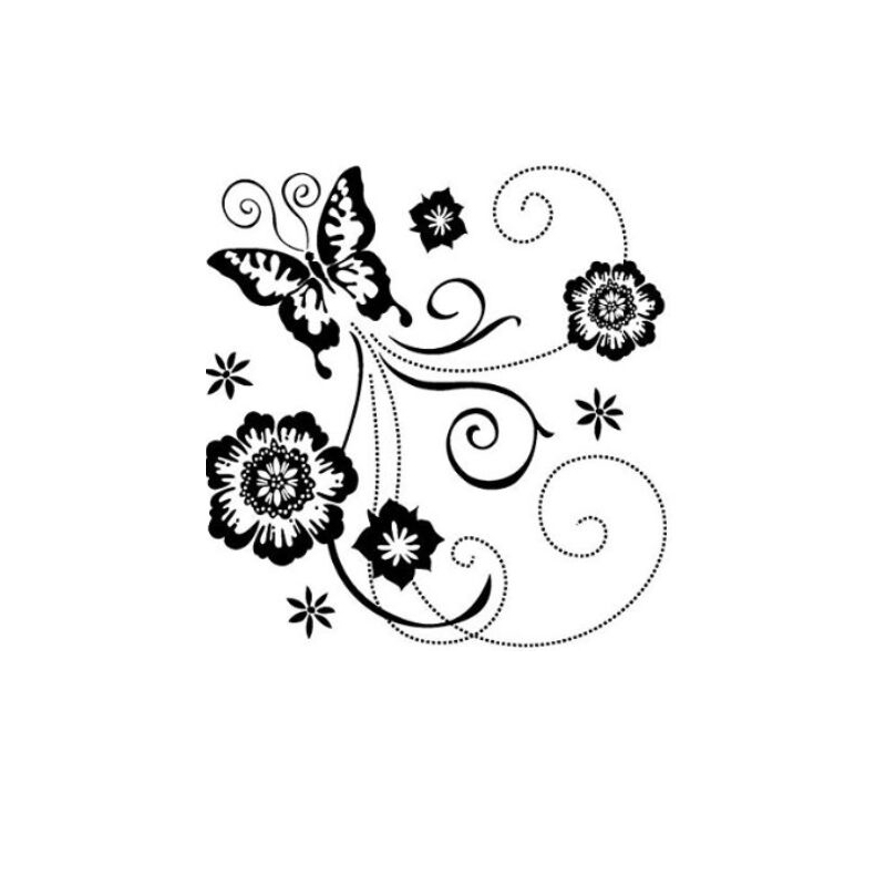 CCINEE Decora Flower Transparent Stamp Clear Stamp Pattern Stripe DIY Scrapbooking/Card Making/Christmas Decoration Supplies аксессуары sonance vc60s decora white