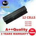 Оптовая продажа новый 12 ячеек аккумулятор для ноутбука asus N46 n46v N46VJ N56 N56D N56V N76 N76V A31-N56 A32-N56 A33-N56