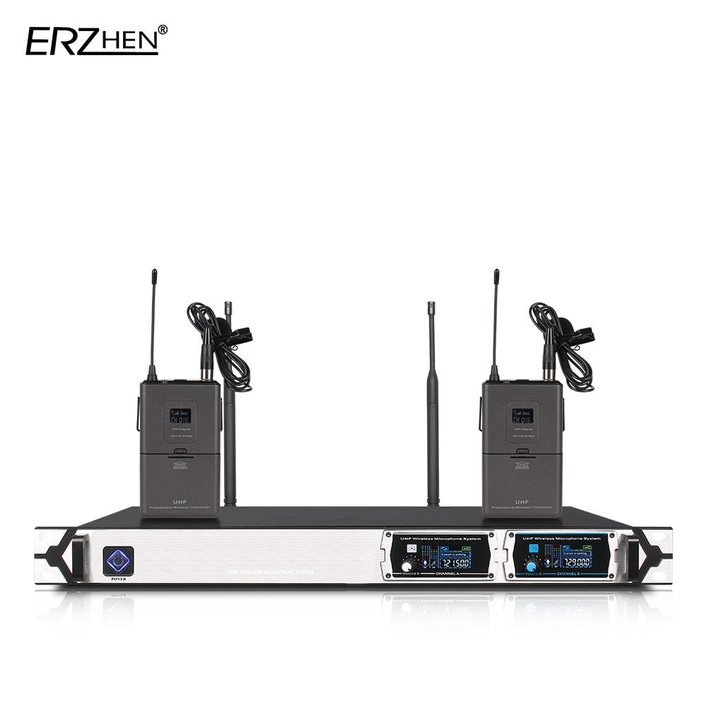 Juhtmevaba mikrofon U8000GT2 UHF 2-kanaliline fikseeritud sagedus + - Kaasaskantav audio ja video - Foto 2