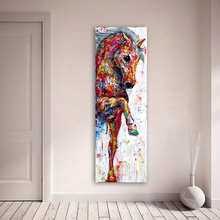 Horse Picture Wall Art Canvas Painting Poster Prints Animal Home Decor No Frame