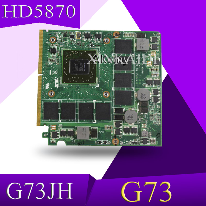 XinKaidi G73_MXM HD5870 216-0769008 Video Card For ASUS G73 G73JH Laptop  Graphics Card board 100% Tested Working Free Shipping