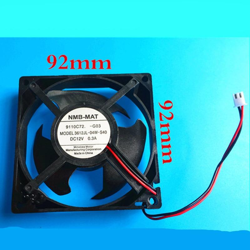 1pcs Applicable Refrigerator Fan NMB-MAT MODEL 3612JL-04W-S40 DC12V 0.3A cooling fan Refrigerator Parts 1pcs Applicable Refrigerator Fan NMB-MAT MODEL 3612JL-04W-S40 DC12V 0.3A cooling fan Refrigerator Parts