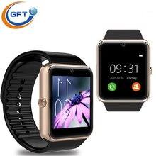 GFT GT08A Neueste Version Multi sprache Smart Uhr Sync Notifier Bluetooth-konnektivität Android Telefon Smartwatch