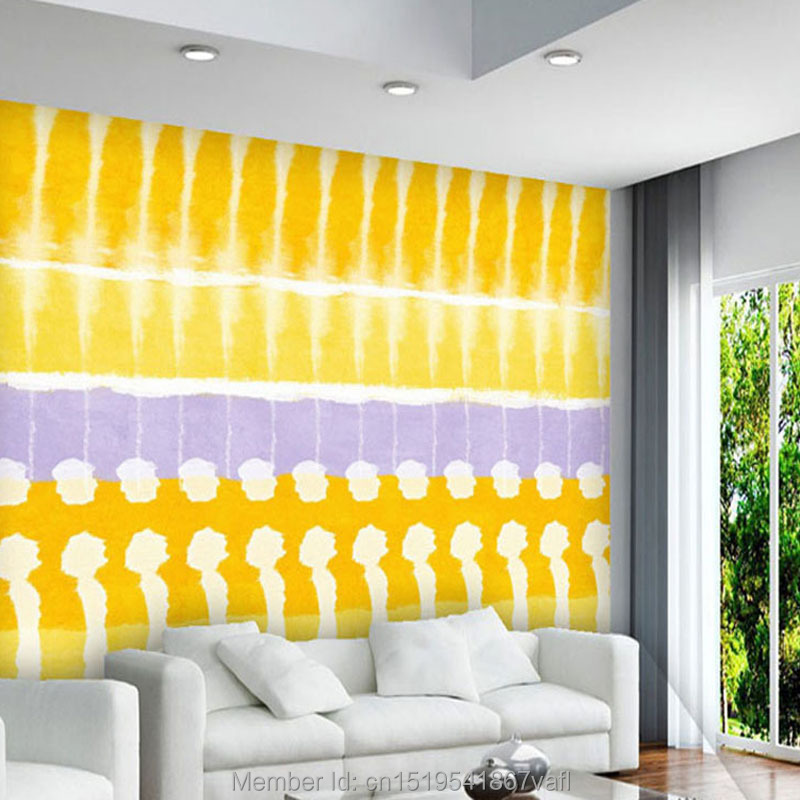 Bright Yellow Wallpaper compare prices on yellow wallpaper geometric- online shopping/buy
