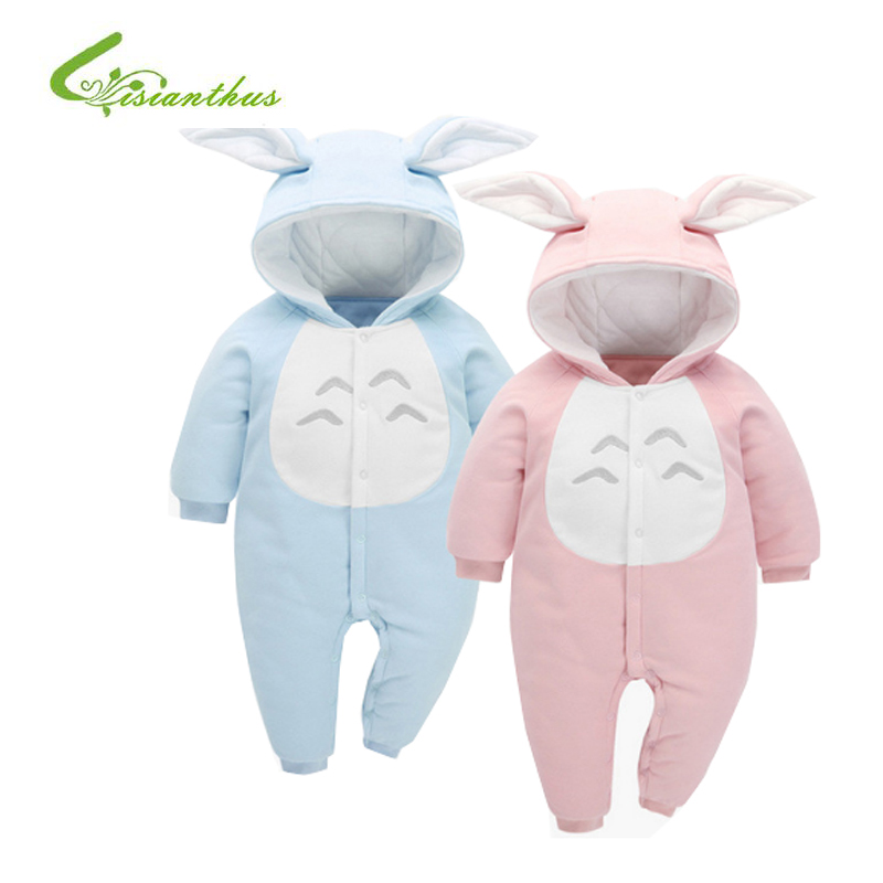 Baby Romper Boys Girls Clothes 100% Cotton Kids Spring Autumn 3D Bunny Ear  Hoodies Outwear Newborn Overalls Jumpsuit Playsuit newborn infant baby girls boys long sleeve clothing 3d ear romper cotton jumpsuit playsuit bunny outfits one piecer clothes kid