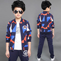Child 5 male child spring set 2017 6 twinset 7 9 spring and autumn kids clothes 10 boy 8 - 12