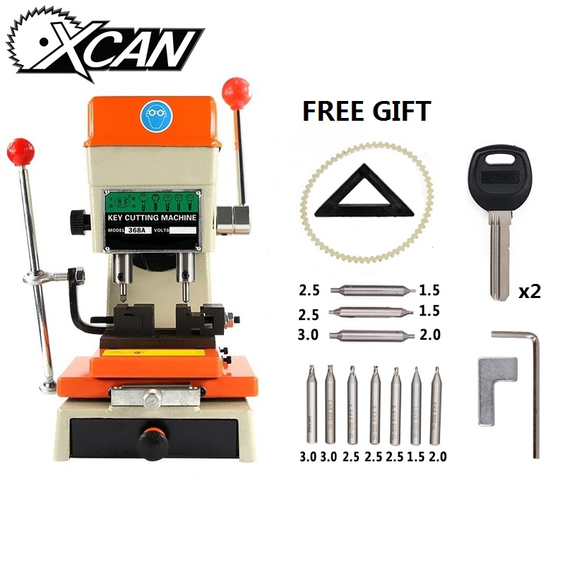 XCAN DEFU Vertical Key Machine 368A Machine For Making Car Door Keys Cutter Locksmith Tools Key Duplicating Machine
