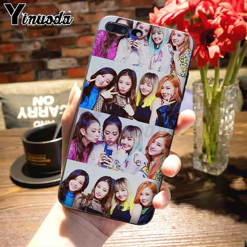 Yinuoda чехол для iphone 11 11pro max funda черный розовый черный k-pop kpop girl group чехол для телефона для iphone 8 7 6 6S Plus X XS MAX XR 5 5S SE 5C Чехол