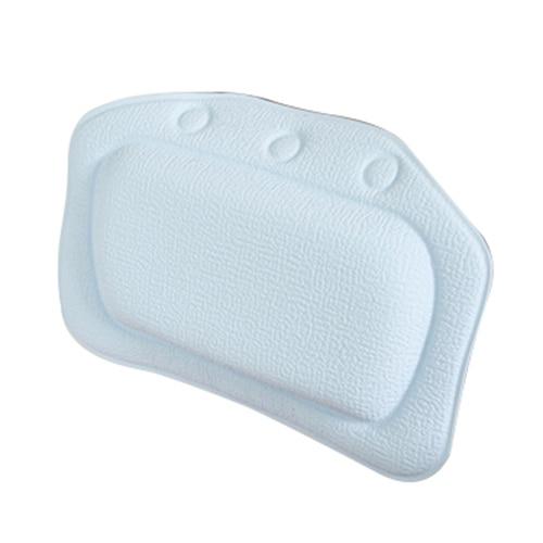 Buy Home Garden Bathroom Bathtub Pillow Bath Bathtub Headrest Suction Cup Waterproof Bath Pillows Bathroom Products From Reliable