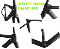 Free Customs Clearance Shipping T1100 1k UD Aero Road Bike Frame Carbon Bicycle Frameset 3k Carbon