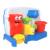 1 pc colorido do bebê brinquedos de banho torneira play torneiras chuveiro spray de água de plástico macio crianças crianças praia brinquedos pacote de varejo