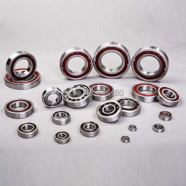 1PCS 17mm Spindle Angular Contact Ball Bearings 71903 7903 17x30x7 SUPER PRECISION BEARING ABEC-5 P5 1pcs 71901 71901cd p4 7901 12x24x6 mochu thin walled miniature angular contact bearings speed spindle bearings cnc abec 7