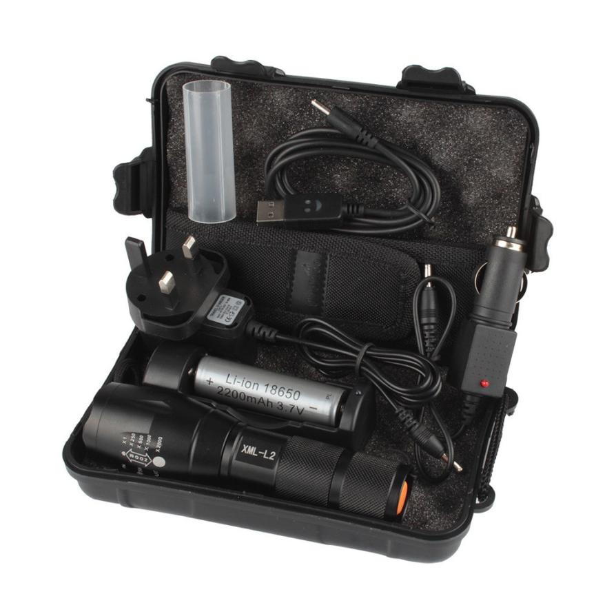 6000LM X800 L2 LED Outdoor Cycling Zoomable Bike Flashlight Torch Powerful battery Waterproof Hard Light Lamp Portable P40 waterproof mini led flashlight cree q5 2000lm powerful flashlight led laterna 3modes zoomable portable torch aa 14500 battery