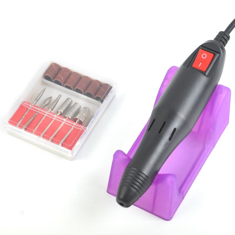 Aliexpress.com : Buy Electric Nail Drill Manicure Set Pen Machine ...